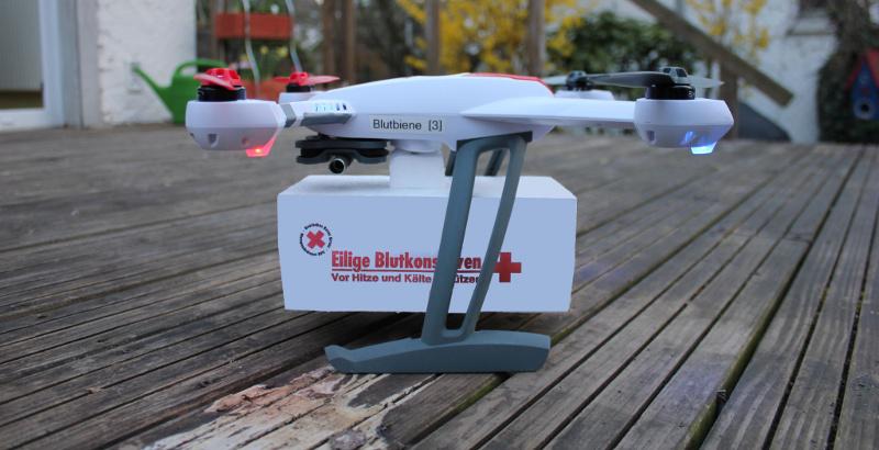 Blutdrohne des DRK Blutspendedienst Bad Kreuznach