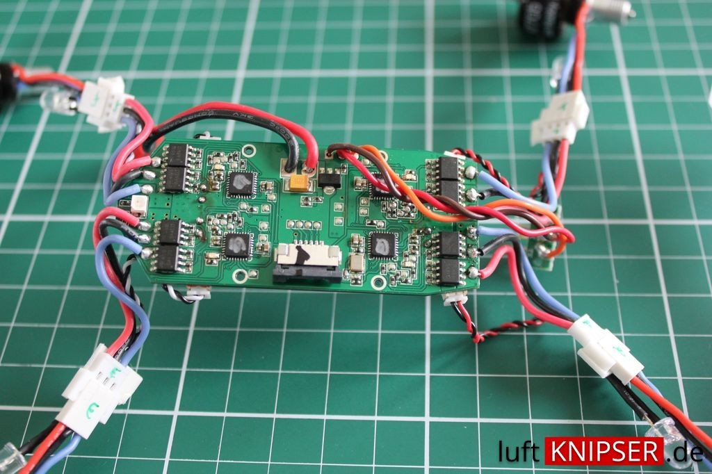 Blade 200 QX Elektronik
