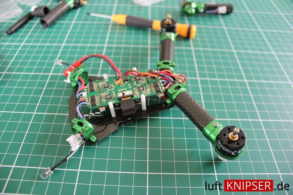 Blade 200 QX RKH Arme montage