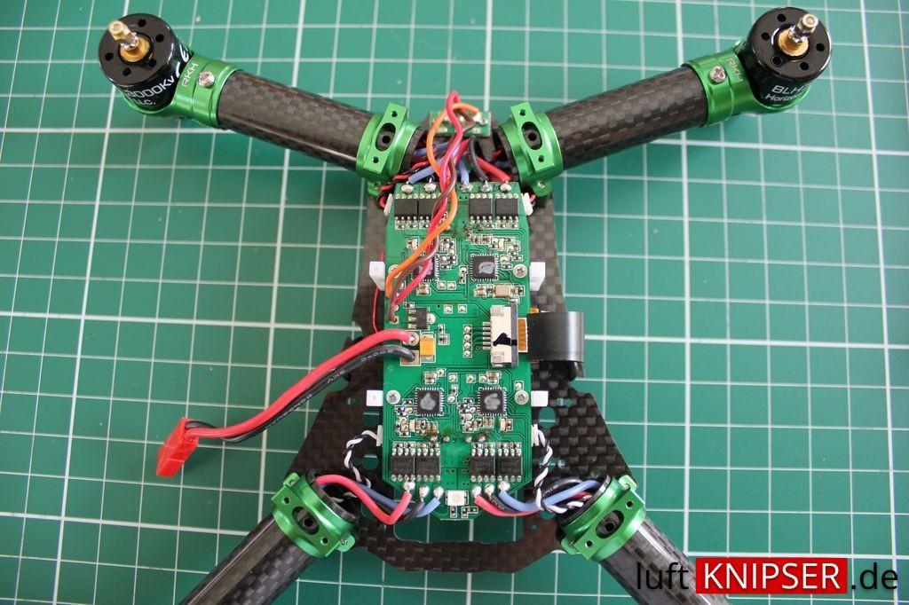 Rakonheli Umbau Blade 200QX - ESC Board
