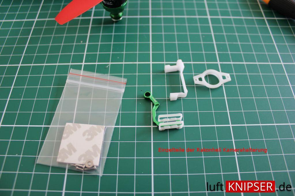 Blade 200 QX - VT1100 Micro FPV-Kamera-Halter