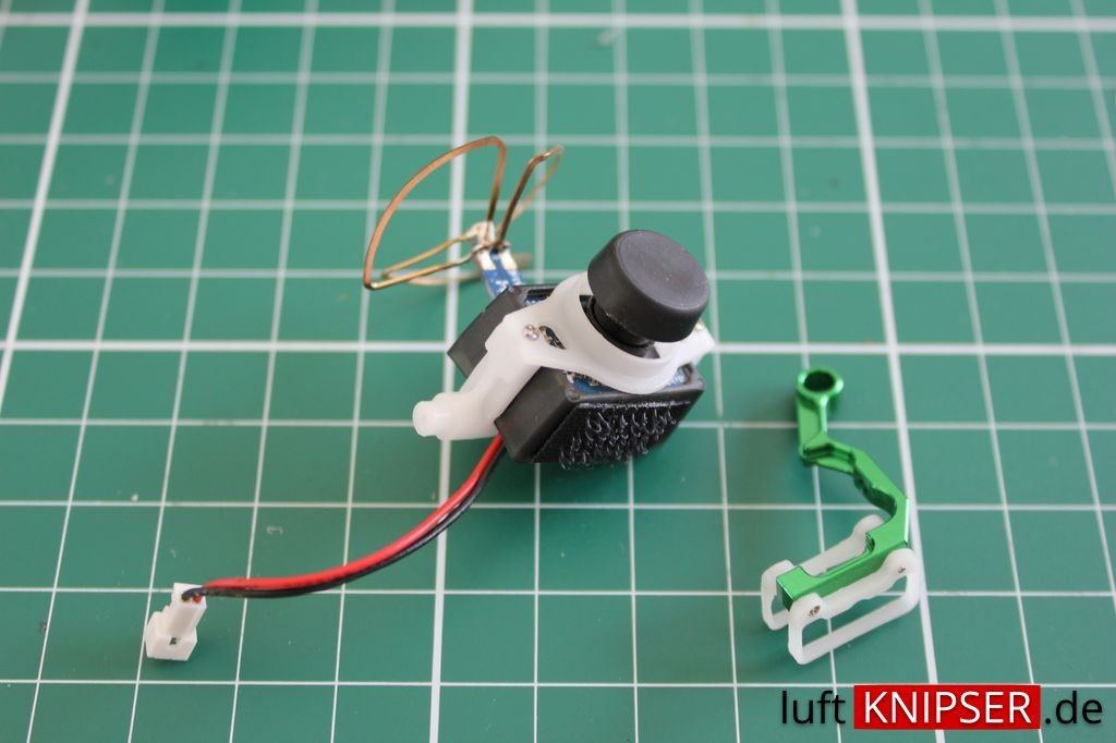 Blade 200 QX - VA1100 Micro FPV-Kamera-Halter