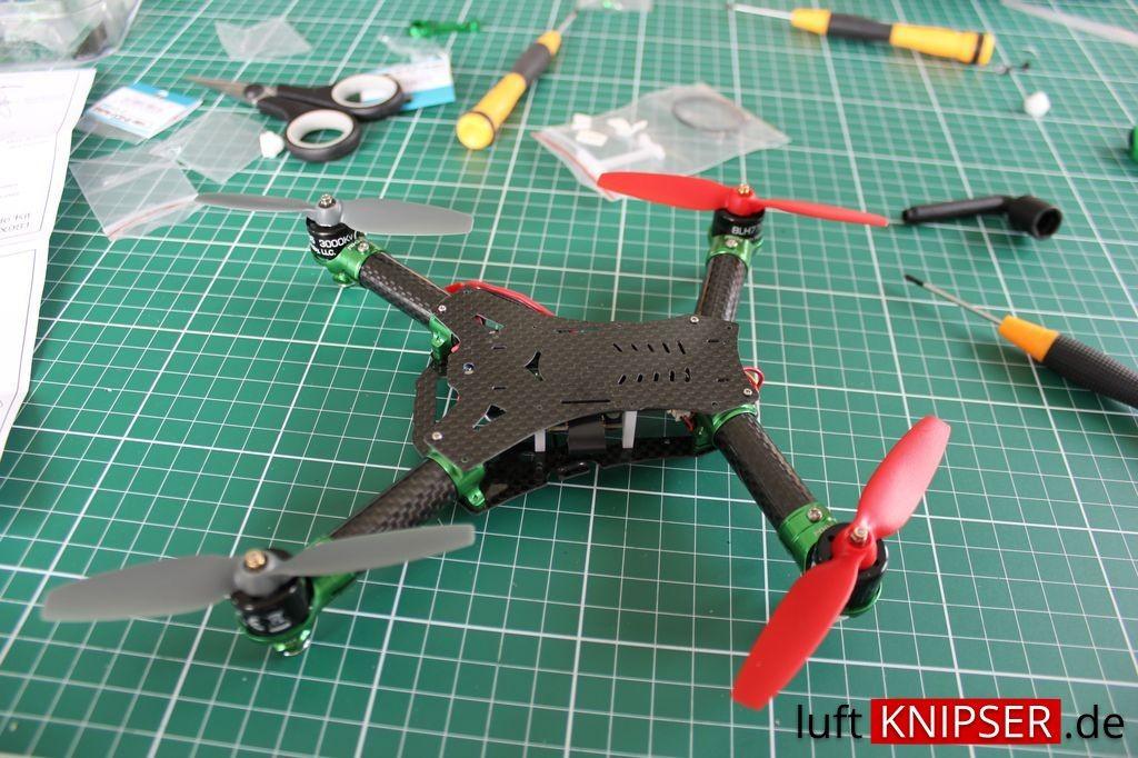 Umbau Blade 200 QX auf Rakonheli Frame