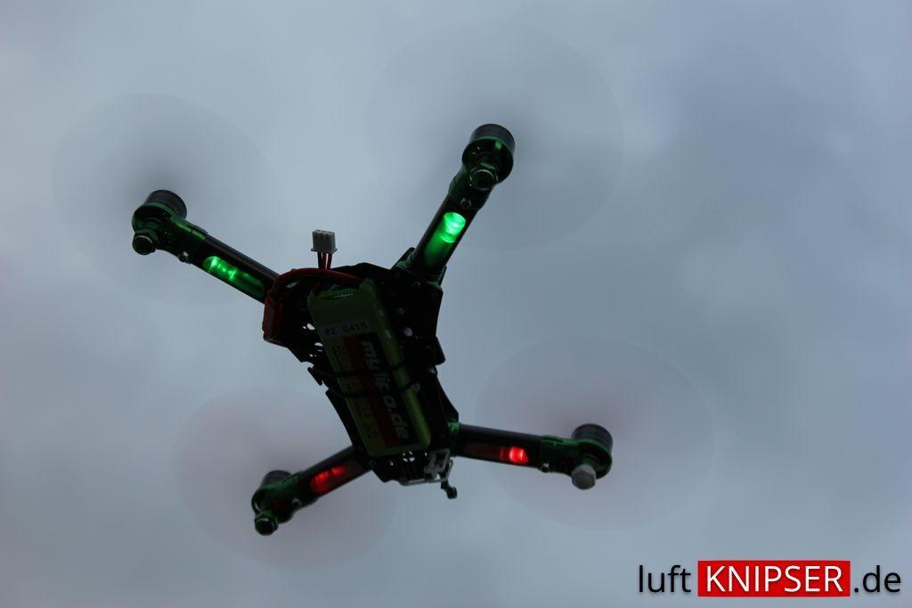 Gute Positionserkennung durch LED Lichter
