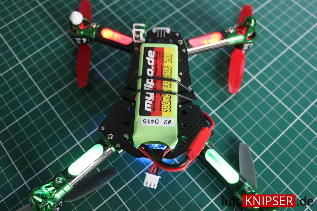 LED Positionsleuchten am Blade 200 QX