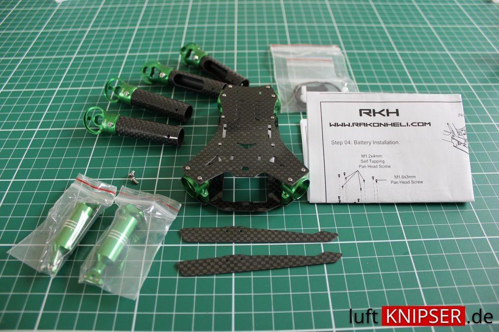 Rakonheli Tuning Frame Blade 200 QX