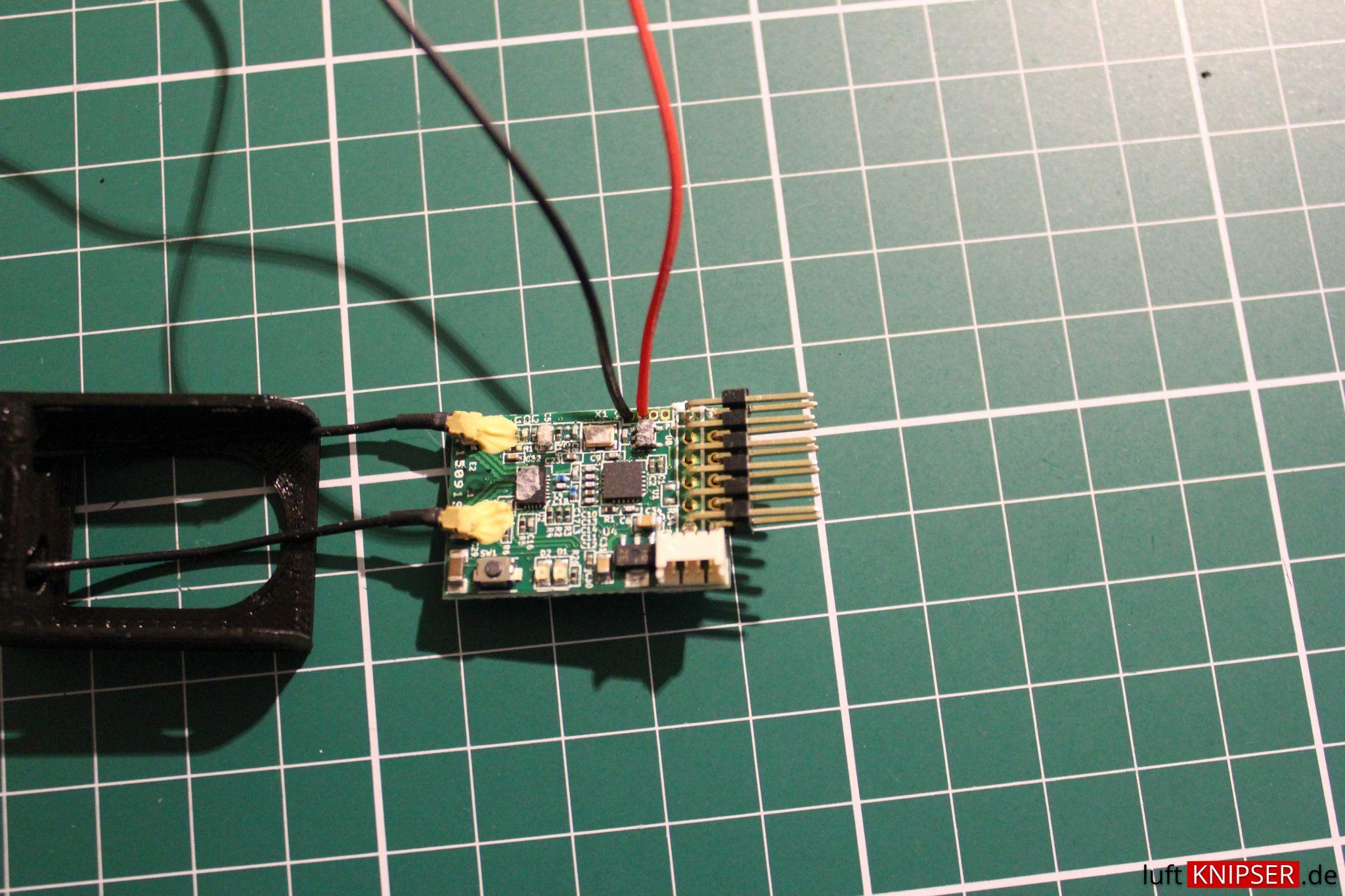 Naze32 Rev5 Und Frsky X4r Per Sbus Miteinander Verbinden Luftknipser Schematic Filigrane Anschlusspunkte