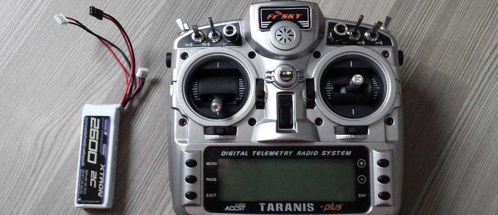 Taranis X9D Lipo Umrüstung