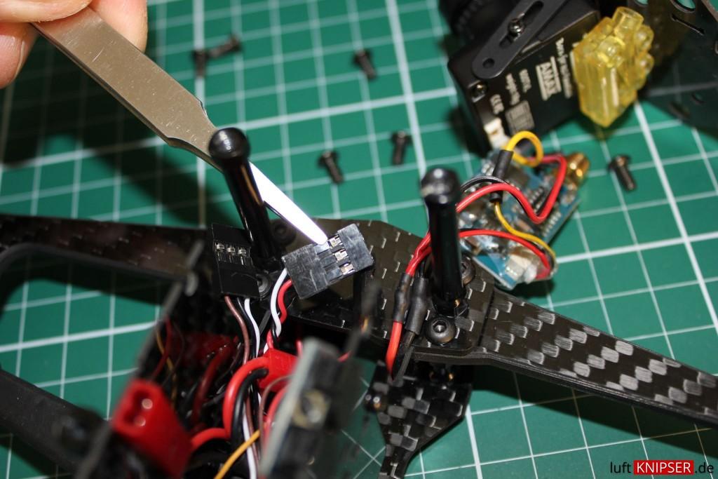Servo Anschluss Lipo Beeper RoboterKing
