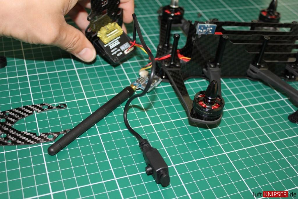 Runcam OSD Menü Kabel