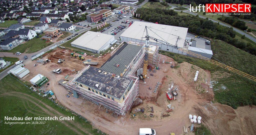 Neubau der microtech GmbH